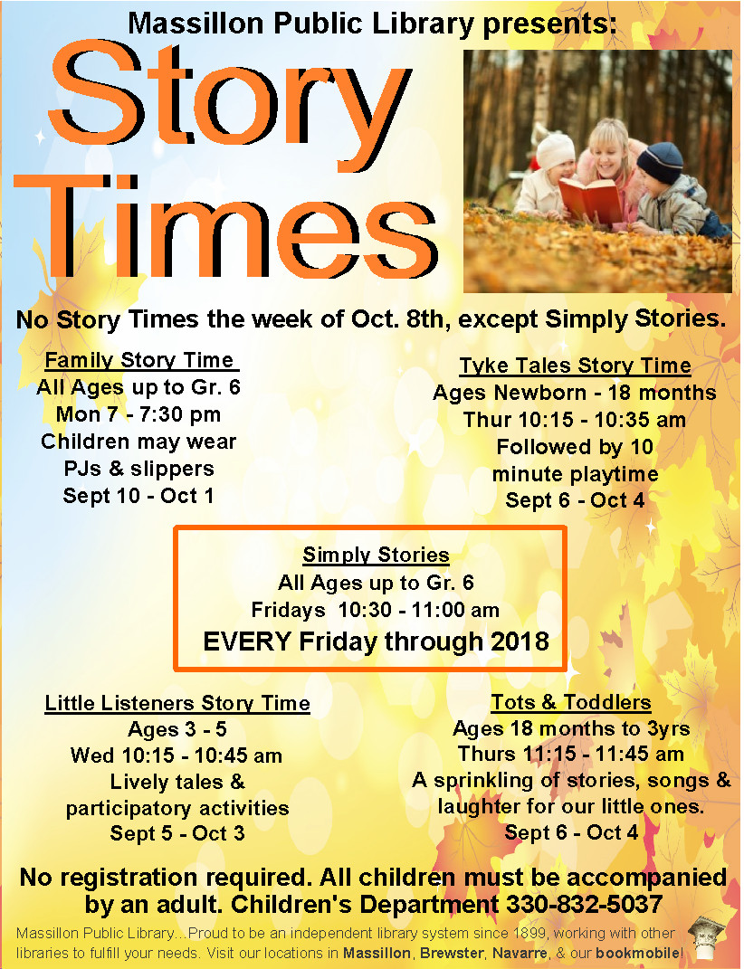 massillon public library events - simply stories